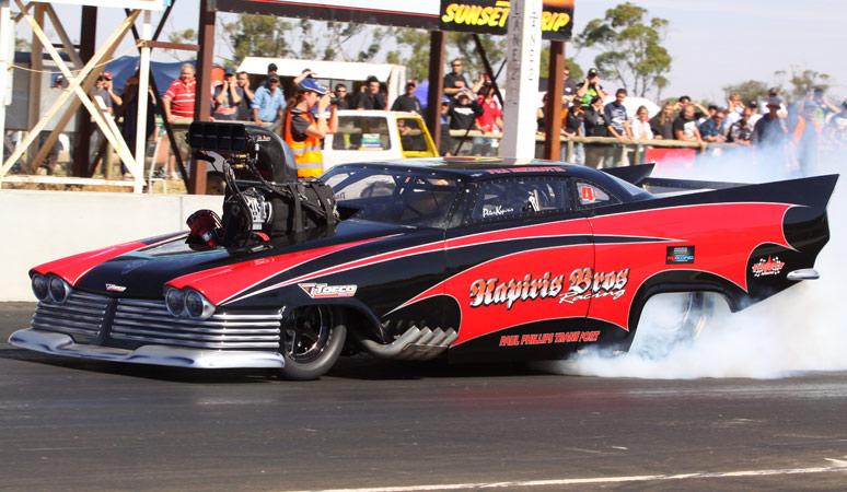 Kapiris Brothers Racing Top Doorslammer